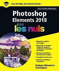 Photoshop Elements 2018 pour les Nuls par Barbara Obermeier