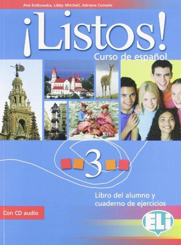 ¡listos! libro dello studente-eserciziario. con cd audio. per la scuola media: 3