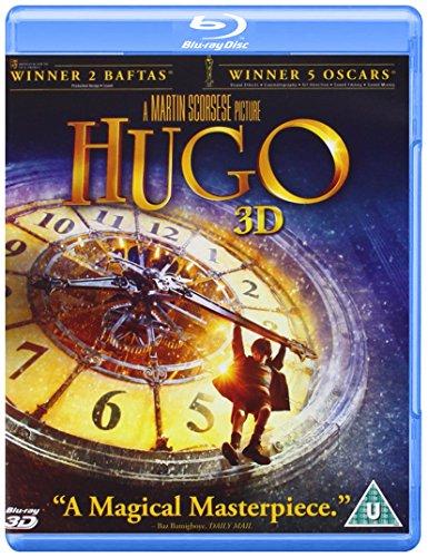 Hugo (Blu-ray 3D + Blu-ray) [Reino Unido] [Blu-ray] 510m 2B E0vNL
