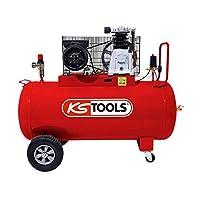KS Tools – Compresseur d'air – Compresseur d'air 100 litres – 10 bars – 3CV – 230V – KS Tools 165.0704 pas cher