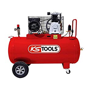 KS Tools – Compresseur d'air – Compresseur d'air 100 litres – 10 bars – 3CV – 230V – KS Tools 165.0704 pas cher
