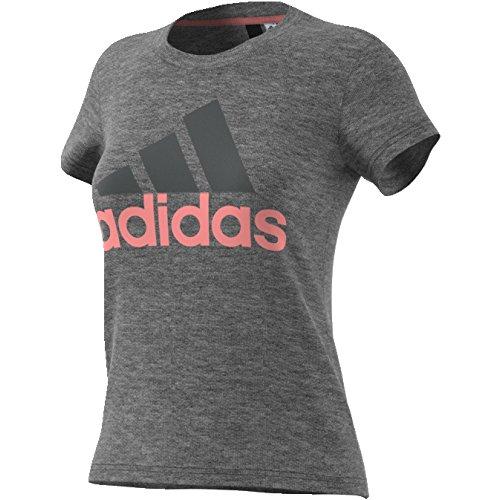 Adidas - ESS Li SLI Tee - T-Shirt pour femme Gris