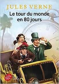 Amazon.fr - Le tour du monde en 80 jours - Texte Abrégé - Jules Verne, Jérémie