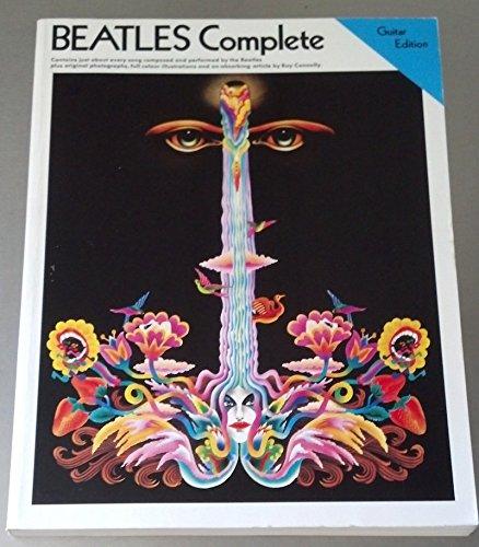The Beatles: Complete - Easy Guitar Edition. Partitions pour Guitare, Ligne De Mélodie, Paroles et Accords(Boîtes d'Accord)