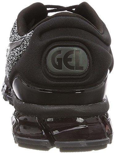 Asics Gel-quantum 360 Knit 2, Scarpe Running Uomo Nero (noir / Blanc / Noir 9001)