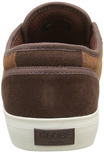Globe Motley, Chaussures de Skateboard Homme Marron (Ginger/Brown)