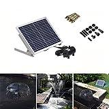 Segolike 10W Solar Power Fountain Pool W...