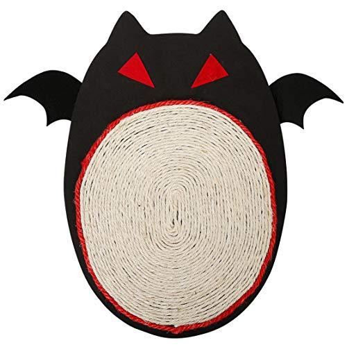 �lago de Halloween Mascota Gato Escritorio Esquina Sofá Coger Manta Tablero del rasguño Protección Muebles Pie Sisal Natural Gato Juguete ()