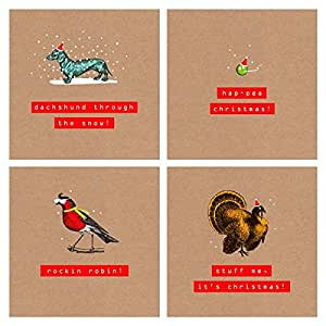 28boxed Christmas Cards, 4design