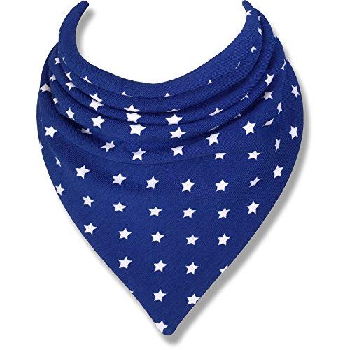 Baby Lätzchen BLUE STARS durch Babble Kids