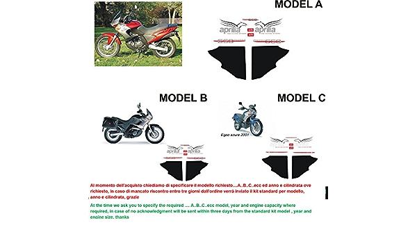 Emanuel Co Kit Adesivi Decal Stickers Aprilia Pegaso 650 Ie 2001 Geben Sie Model A Oder B Oder C Auto