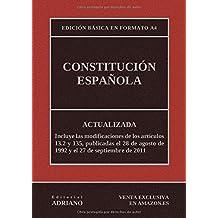 Constitución Española: Actualizada, incluyendo la última reforma recogida en la descripción