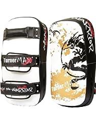 TurnerMAX Bouclier de frappe sur pied Kick Boxing MMA Pao pour boxe thaï-Courbé-Bouclier de frappe-bras
