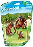 Playmobil - 310527 - Le Zoo - 6648 - Orangs-Outangs Avec Bébé