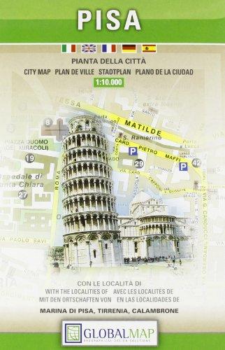 Pisa. Pianta della città 1:10.000 por Litografia Artistica Cartografica (LAC)
