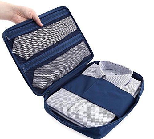 Ducomi® Cloonie - Organizador Viaje Camisa Corbatas