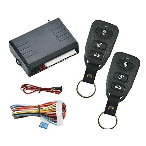 Holoen Auto Funkfernbedienung für Zentralverriegelung,1 Kanal Fernbedienung Schaltleistung 12V mit 2 Handsender