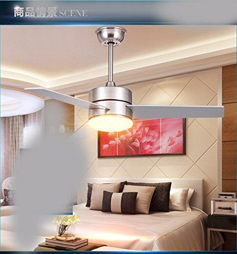 sdkky il ristorante Fan-LED-Spazio lascia Fan lampadario, un deckenventilator moderno con una lampada (99cm) remote control