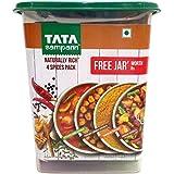 #5: Tata Sampann Spice Mix - Garam Masala + Kitchen King Masala + Punjabi Chhole Masala and Turmeric Powder, 4 x 100g Combo Pack