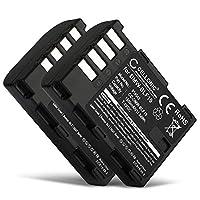 CELLONIC 2X Batería Compatible con Panasonic GH5 Lumix DC-GH5s DMC-GH4 G...