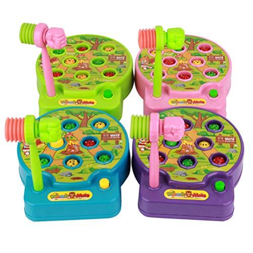 Toyvian Juguetes niños Juegos eléctricos Whack Mole