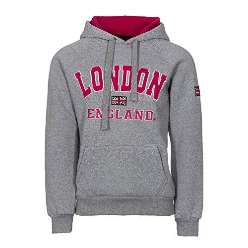 Love LolaDamen Sweatshirt Schwarz Grey/Pink