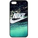 Cool Just Do It Nike Logo Funda,Just Do It Nike Logo Iphone 5/5S Case,Nike Funda Black Hard Plastic Case Cover For Iphone 5/5S