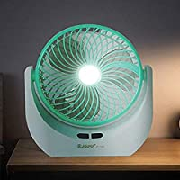 RAKITIC Foldable Desktop Aromatic Rechargeable USB mini 6 Inch Small Fan table fans for home,table fans small,table fans for kitchen,table fans for home rechargeable,table fans high speed