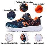 ZOSYNS Sneaker für Kinder, Schwarz - 6