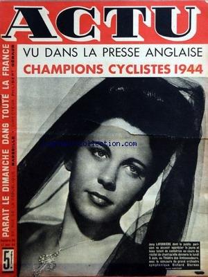 ACTU [No 96] du 21/05/1944 - VU DANS LA ...