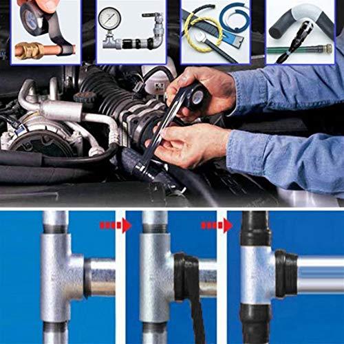 150x2.5cm Super Strong Fiber Waterproof Tape Stop Leaks Seal Repair Nastro Prestazioni Self Fix Tape Nastro Adesivo 2 Rotoli Length : 1.5 M, Width : 2.5 cm2 rolls