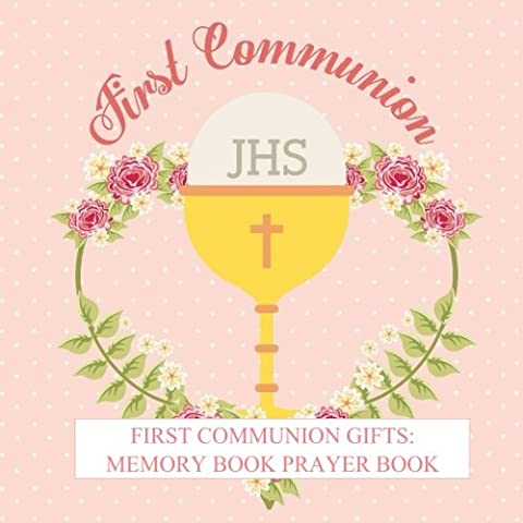 First Communion Gifts: For Girls Memory Book Prayer Book Photo Pages Reception Recorder First Communion Gifts for Girls in all departments First ... Catholic Gifts for Girls in all
