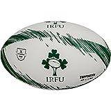 Gilbert Supporter Irlanda Balón de Rugby, Blanco/Verde, 5