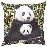 IKEA ASIA URSKOG Kissen Panda Mehrfarbig