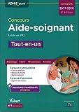 Concours Aide-soignant - Entrée en IFAS - Tout-en-un Concours 2017-2018...