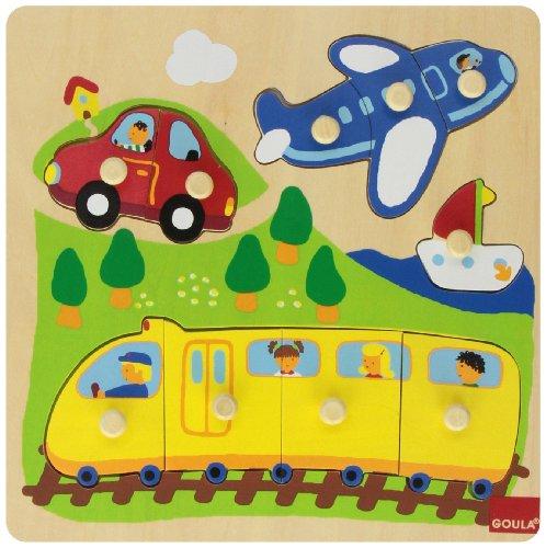 Goula 53030 - Puzzle Veicoli