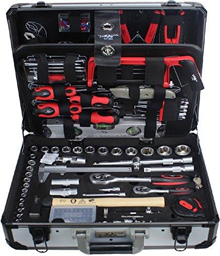 Preisvergleich Produktbild TrendLine Werkzeugkoffer 129 teilig Chrom-Vanadium-Werkzeugstahl