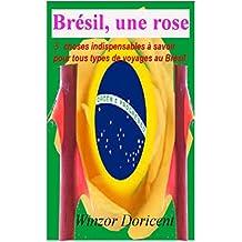 Brésil, une rose: 3 choses indispensables à savoir pour tous types de voyages au Brésil