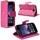 Seluxion - Housse Coque Etui Portefeuille Fonction Support Style Diamant...