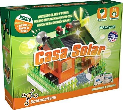¿Sabes lo que es la energía solar? ¿Sabes qué aplicaciones puede tener? Con este juguete entenderás cómo se puede aplicar la energía solar en la vida real, a través de la simulación de esta casa ecológica. ¡Construye tu propia casa y aprende de forma...