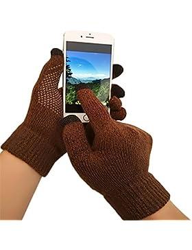 iEverest Unisex Guantes para pantalla táctil Guantes antideslizante Guantes de amante gruesos smartphone guantes...