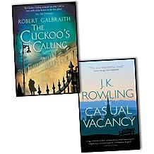 Robert Galbraith J K Rowling 2 Books Collection Pack Set RRP: 24.98 (The Cuc...