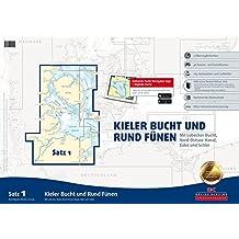 Satz 1: Kieler Bucht und Rund Fünen (Ausgabe 2015): Mit Lübecker Bucht, Nord-Ostsee-Kanal, Eider und Schlei