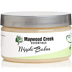 Nipple Balm - Soothing Cream for Irritated Nipples - Ideal for Breastfeeding & Nursing Moms - Great New Baby Gift - Natural & Organic Ingredients - Safe for Newborn Babies, Infants & Moms