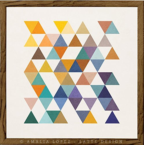 triangles-2-geometric-print-by-latte-design-geometric-art-print-triangles-poster-abstract-art-poster
