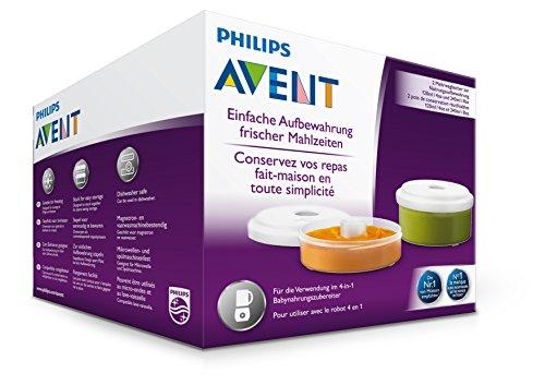Philips Avent SCF876/02 Babynahrung Aufbewahrungsbehälter, weiß - 5