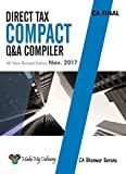 MakeMyDelivery CA Final Direct Tax Compact Q/A Compiler By CA Bhanwar Borana Applicable for November 2017 Exam