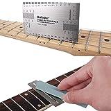 Mr. Power, righello per chitarra elettrica con Fret, set di strumenti di levigatura per chitarra acustica elettrica e basso