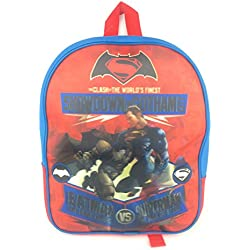 BATMAN VS SUPERMAN - Mochila infantil BLUE AND RED