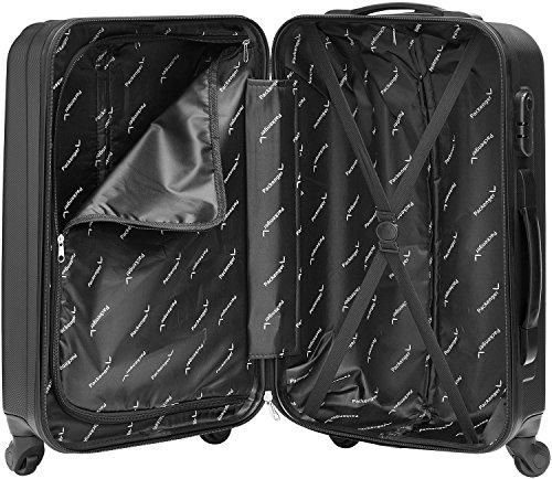Packenger Line Koffer, Trolley, Hartschale  3er-Set in Schwarz, Größe M, L und XL - 9